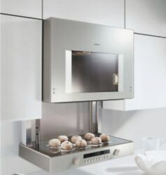 New Gaggenau 200 Series Bl253610 Lift Oven Stainless Steel Wall Mounted 24