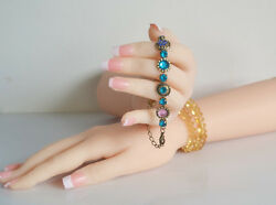 One-pair Built-in Joint Realistic Female Mannequin Hands Model Jewelry Display