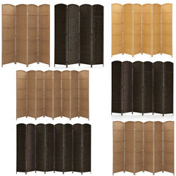 Rhf Folding Room Dividers 4 6 8 Panels Privacy Screens Home Office School Decor