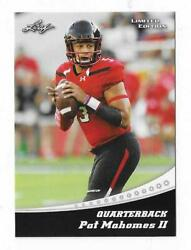 2017 Leaf Limited Edition Pat Mahomes 13 Sp Special Release Rc