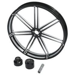 30and039and039 X 3.5and039and039 Front Wheel Rim Hub Single Disc Fit For Harley Touring 2008-2021 19