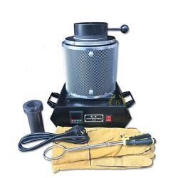 Gold And Silver Melting Furnaces Electric Melting Oven Capacity 2kg