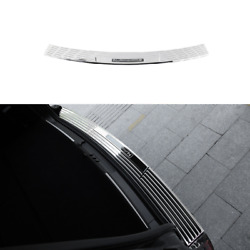 Chrome Steel Outer Rear Bumper Protector Plate For Lincoln Navigator 2018-2021