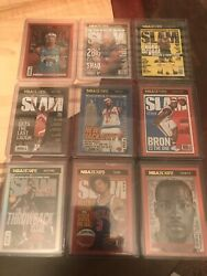 2020-21 Nba Hoops Slam Complete Set 20 Gold Holos And 11 Purple Explosions