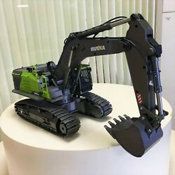 114 Scale 22ch Huina 1593 Rc Excavator Construction Vehicle Toys For Boys