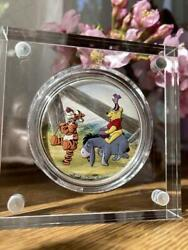 Winnie The Pooh Disney 1oz Silver Display Case With Quality Certification