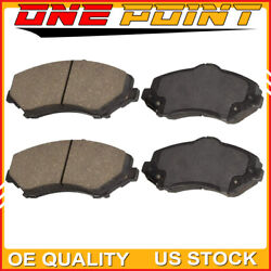 Front Brake Pads With Brake Cleaner And Fluid For Chevy Cruze,12-17 Chevy Sonic
