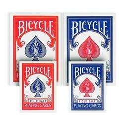 Mini Playing Cards Mixed Red/blue - Bicycle Free Shipping