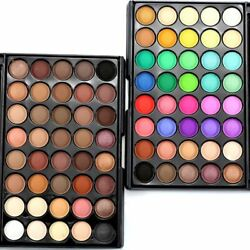 40 Colours Eyeshadow Palette Makeup Cream Eye Shadow Matte Shimmer Cosmetic Set $7.99