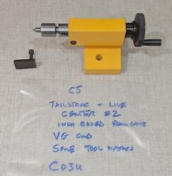 Emco Compact 5 Manual Lathe Parts Mt1 Tailstock 2 And Live Center 200260 C03u