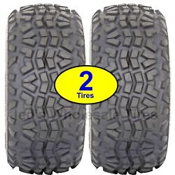 2 23x1100-10 23/1100-10 8ply Atv Tire Oe Some Kawasaki Mule Replaces Old Dunlop