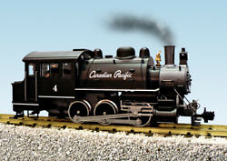 Usa Trains R20065 G Canadian Pacific Dockside 0-6-0t Steam Locomotive 4