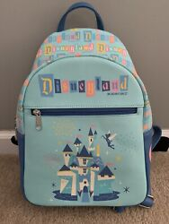 Disneyland 65th Anniversary Loungefly Mini Backpack Target Exclusive NEW $55.00