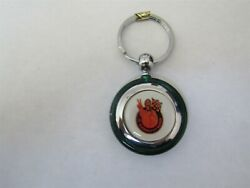 1969 1970 1971 1972 Oldsmobile 442 Cutlass Dr Olds Machines Keychain Green Round