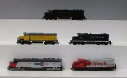 Tyco, Bachmann And Athearn Ho Scale Diesel Amtrak, Santa Fe, Up, Nyc, Prr [5]