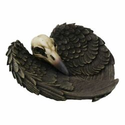 Raven Jewelry Dish Skull Trinket Home Decor Nevermore Witch Familiar Horror Goth