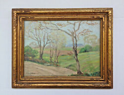 French Impressionist Antique Oil Painting Camille Pissarro 1830-1903