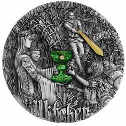 Sword Of Destiny The Witcher 2 Oz Antique Finish Silver Coin 5 Niue 2020