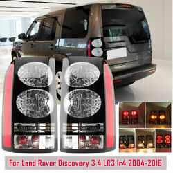 A Pair Rear Tail Brake Light Lamps For Land Rover Discovery 4 Lr4 2004-2015 2016