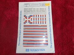 Microscale Ho Decals Amtrak Superliners Phase Ii 87-425