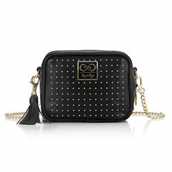 Chelsea Cole for Itzy Ritzy Crossbody Diaper Bag Studded Double Take Diaper $113.89