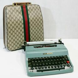 Olivetti Typewriter Lettera-32 Old Original Case Good Condition A445