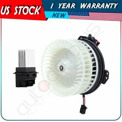 Blower Motor And Resistor Hvac Fit For Chrysler Town And Country/pacifica/dodge
