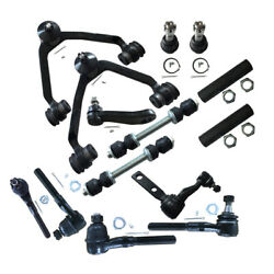 14pc 4wd Front Control Arm Suspension For Ford F150 F250 Expedition W/2.48 Bolt