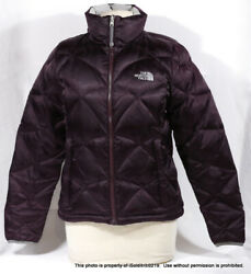 Womens The Goose Down Plum Puffy Jacket Sz S P