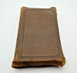 Vintage Teachers Edition The Holy Bible 1894 Oxford Signed