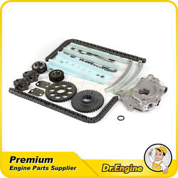 Timing Chain Kit Oil Pump Set Fit 97-04 Lincoln Town Car And 2004 Ford F-150 4.6l