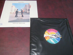 Pink Floyd Wish You Were Here Rare 1995 Capitol Records Picture Disc Lp+ Bonus