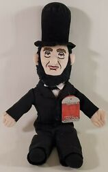 Little Thinkers Abraham Lincoln 17 Plush Doll Stovepipe Hat