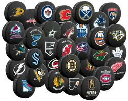 Nhl Classic Souvenir Collector Hockey Pucks By Inglasco - All 32 Teams Available