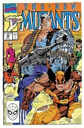 New Mutants 9410/908th Cablestryfe/sunfire/wolverineliefeldcgc It9.6/hot1