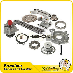 For Chevrolet Buick Rainier Gmc Envoy 4.2 Timing Chain W/ Vvt Oil Water Pump Kit