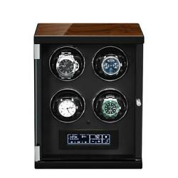 Tempus 4 Watch Winder For Automatic Watches With Touch Screen Technology By Temp