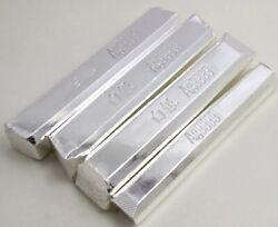 10g Real Pure Starling Silver S0.999 Ag9999 Material Bullion Bar Scrap Stamp