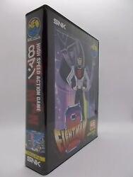 Neo Geo Aes Game Eight Man Game 46 Megs No Manual Japan Used