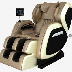 8d Electric Massage Chair Space Capsule Integrated Fullbody Air Bag Zero-gravity