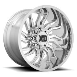 20 Inch Chrome Rims Wheels Xd Series Tension 20x10 Lifted Toyota Tacoma 4runner