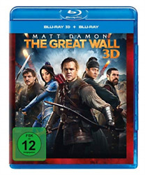 THE GREAT WALL 3D GERMAN IMPORT BLU RAY NEW