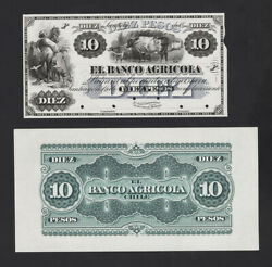 Chile Proof, Front And Back, Catalog P S109