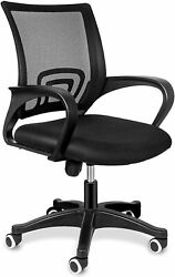 Yssoa Task Office Chair Ergonomic Adjustable Mesh Computer Chair For Home Dorm