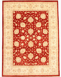 Vintage Hand-knotted Carpet 9and0390 X 11and03910 Traditional Oriental Wool Area Rug
