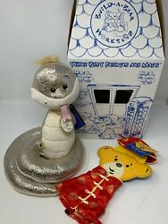 Build A Bear Collectible Year Of The Snake Nwt Rare W Unused Outfit, Box