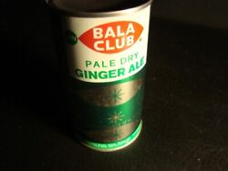 Bala Club Pale Dry Ginger Ale Flat Top Soda Can, Bottom Opened, Version 1