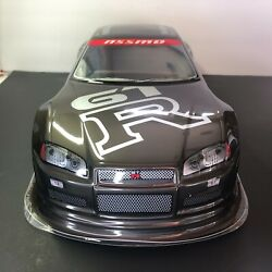 Gtr Painted Body Shell For 1/10 On Road Rc Car