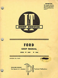 Ford 8000,9000 Series Tractor I+t Shop Manual Fo-27