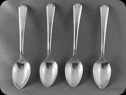 4 Wm Rogers And Sons Lincoln Demitasse Spoons Four 3 Sets Of 4 Avail